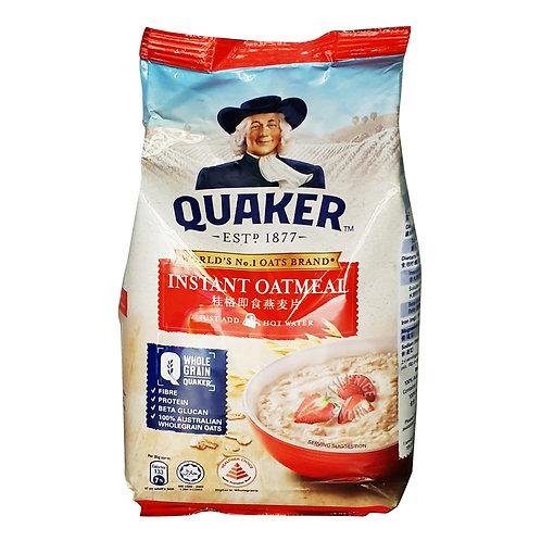 Quaker 100% Wholegrain Oatmeal Refill - Instant 400g
