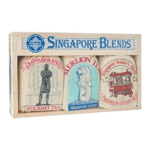 Mlesna Tea Gift Box - Singapore Blends Raffles Assorted 150g