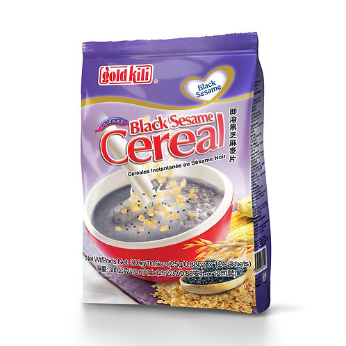 Gold Kili Instant Cereal - Black Sesame 12 x 25g