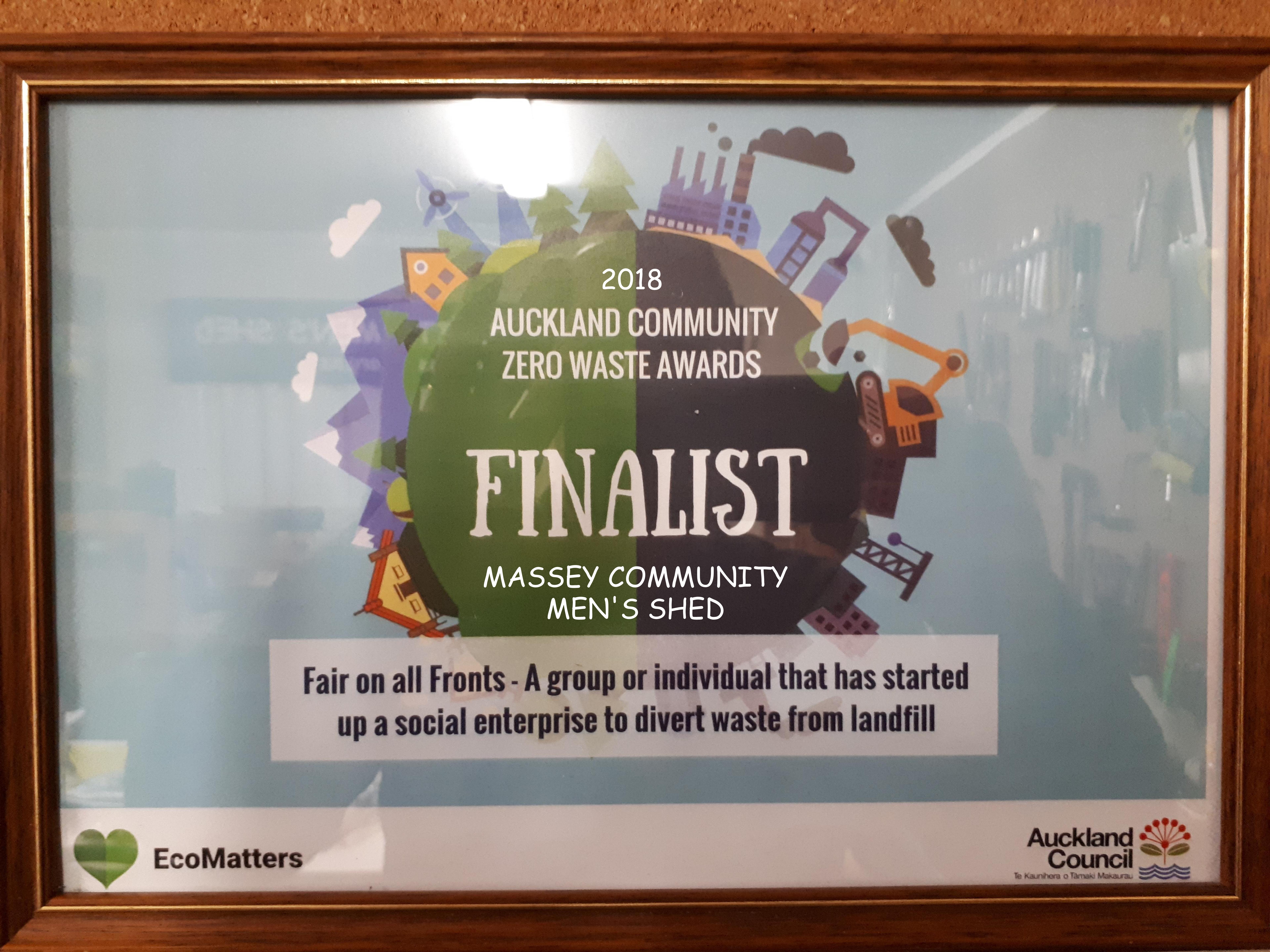 Zero Waste Finalist 2018