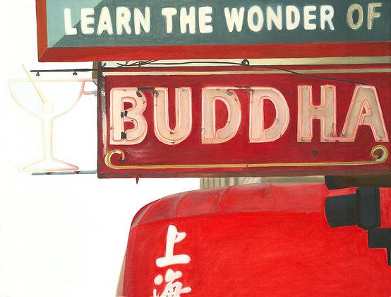 Buddha - 18x24 Canvas Print