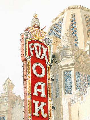 Fox Theater II - 12x16 Paper Print