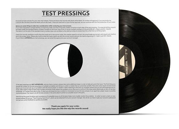 Vinyl Test Pressings