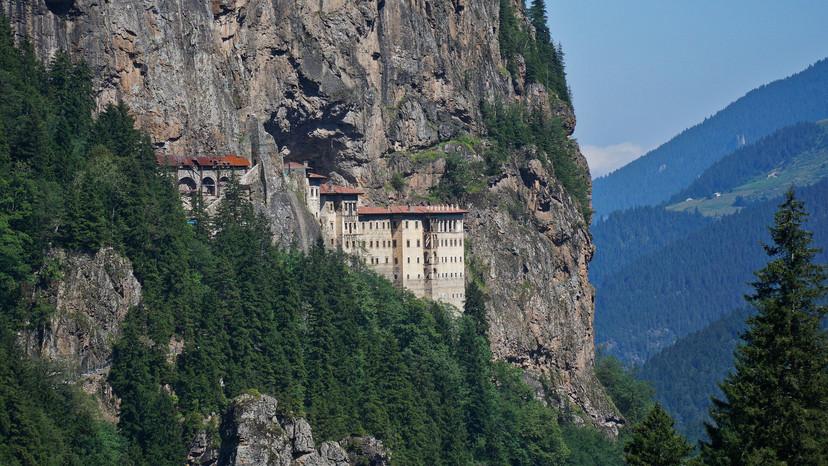 Sumela Monastery   Black Sea Coast