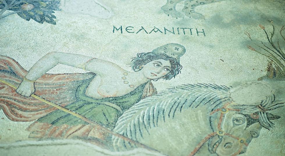 Old Mosaic Artwork in Sanliurfa City