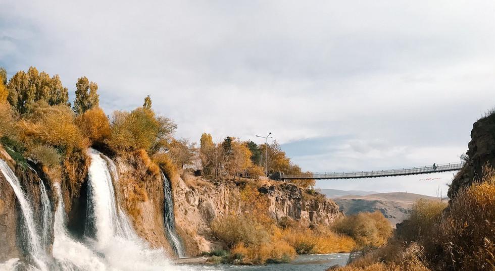 Bridge Over Water | Muradiye Waterfalls