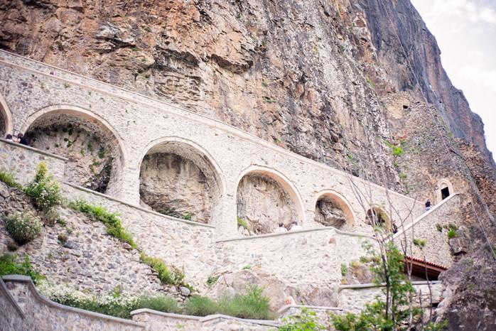 Sumela Monastery Architecture