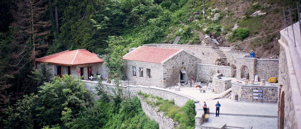 Ancient Building In The Pontic Mountains