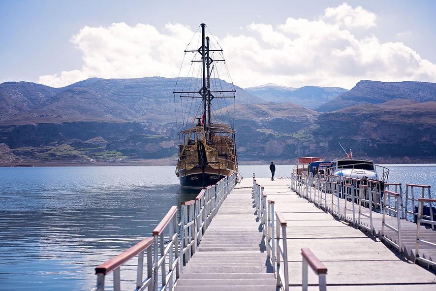 Sailboat At The Dock