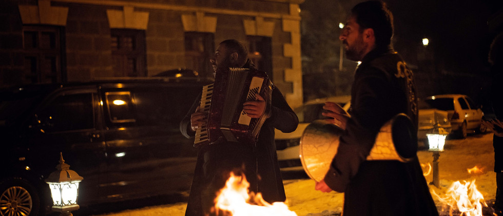 Local Musicians In Kars City