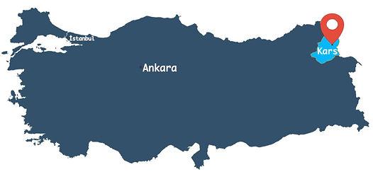 Kars City Map | SIlkRoad Moments