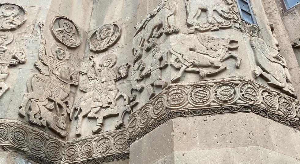 Ancient Wall Sculptures in Van City