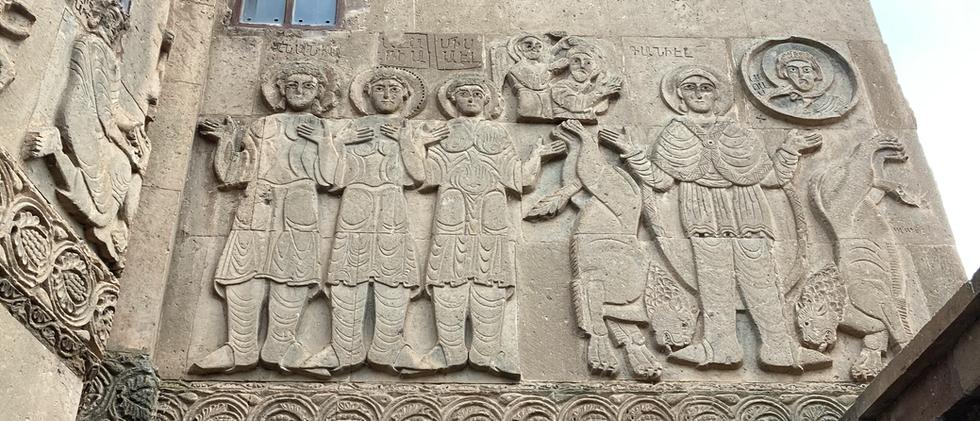 Ancient Turkish Wall Sculpting
