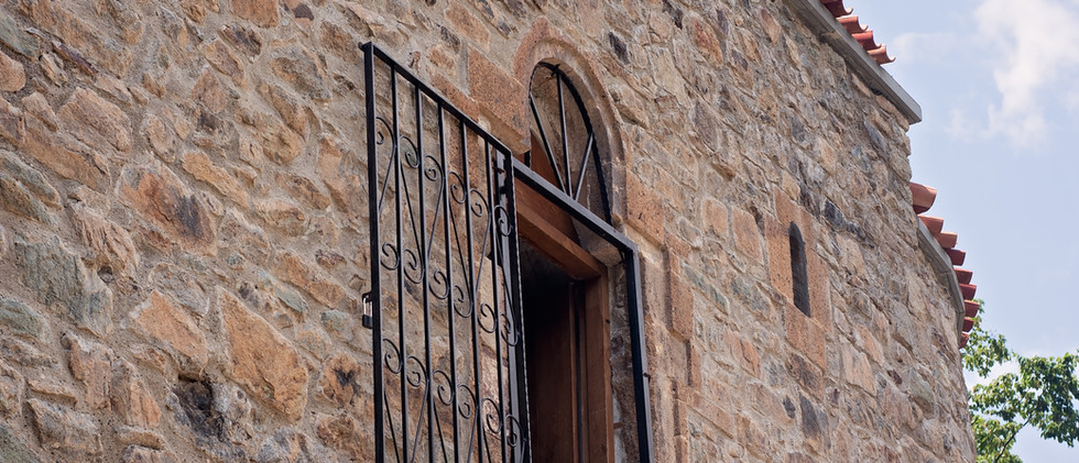 Limestone Building In Trabzon City