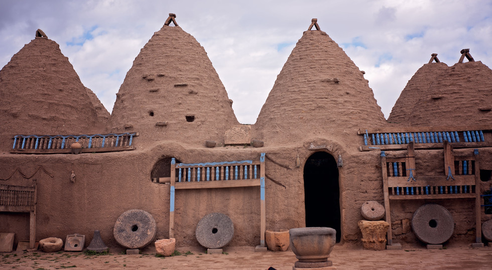 Haran City | Biblical City Of Haran | Mudhuts | Mudhouses
