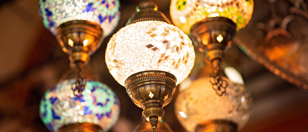 Colorful & Decorative Turkish Lamps