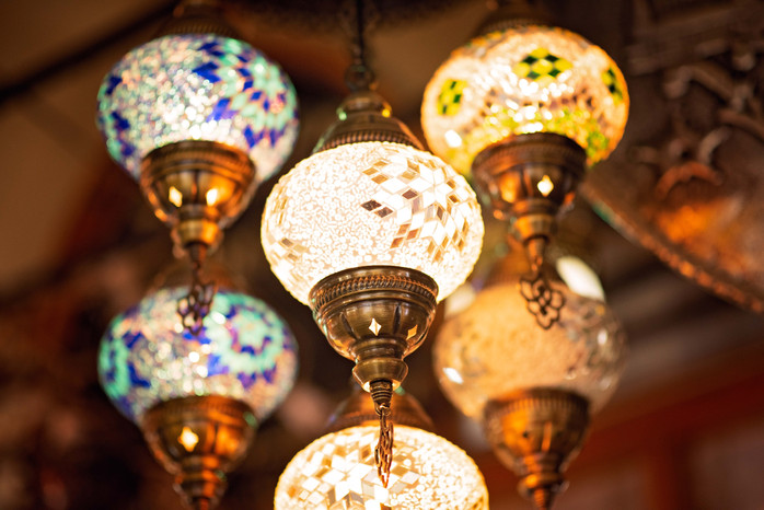 Colorful Turkish Lamps