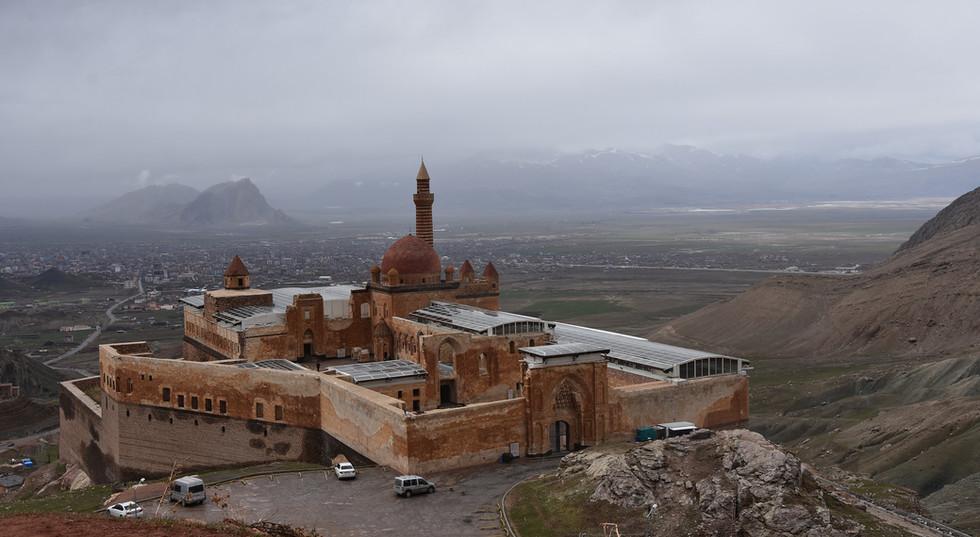 Ishak Pasha Palace in Dogubeyazit City, Turkey | SilkRoad Moments