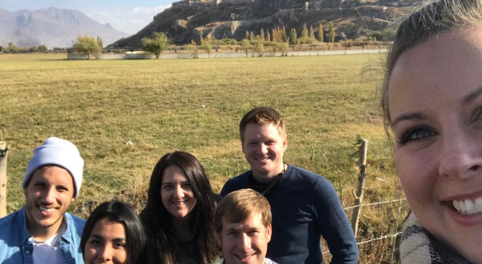 Group Photo In Van City, Turkey