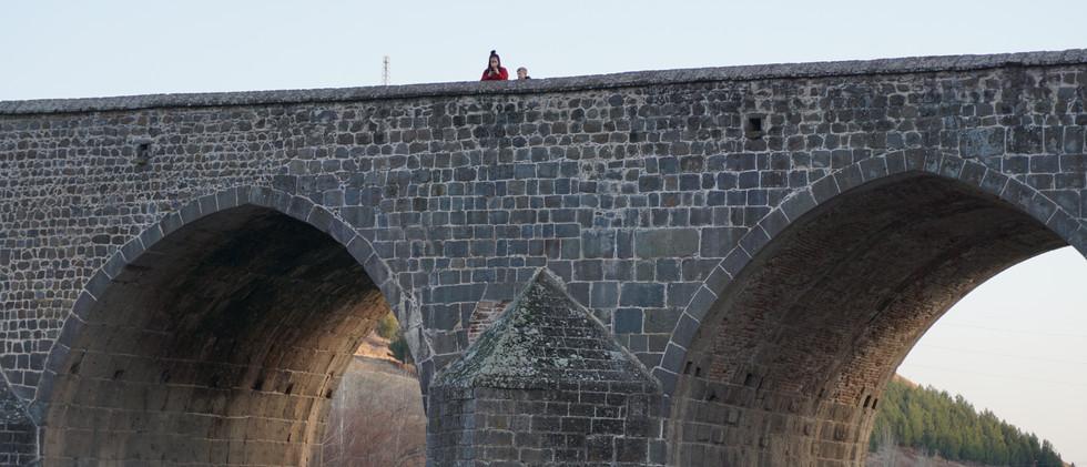 Dicle Bridge OVer Tigris River | Stone Bridge