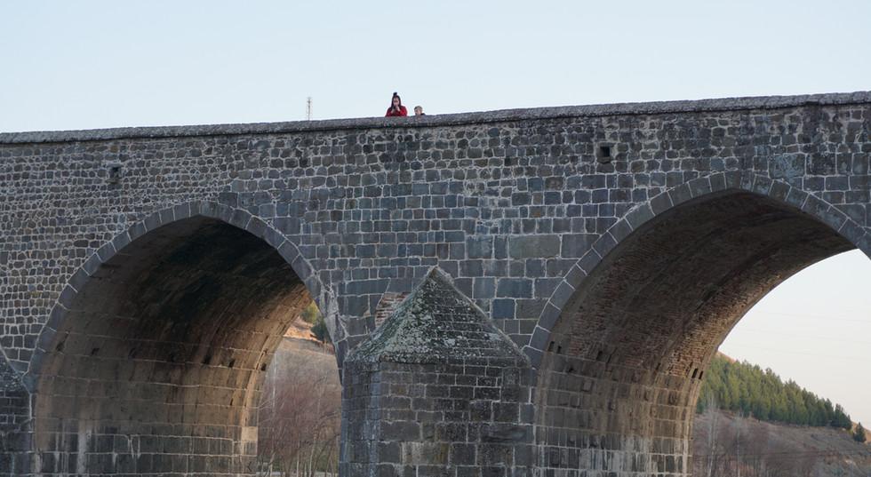 Stone Bridge Over Tigiris River