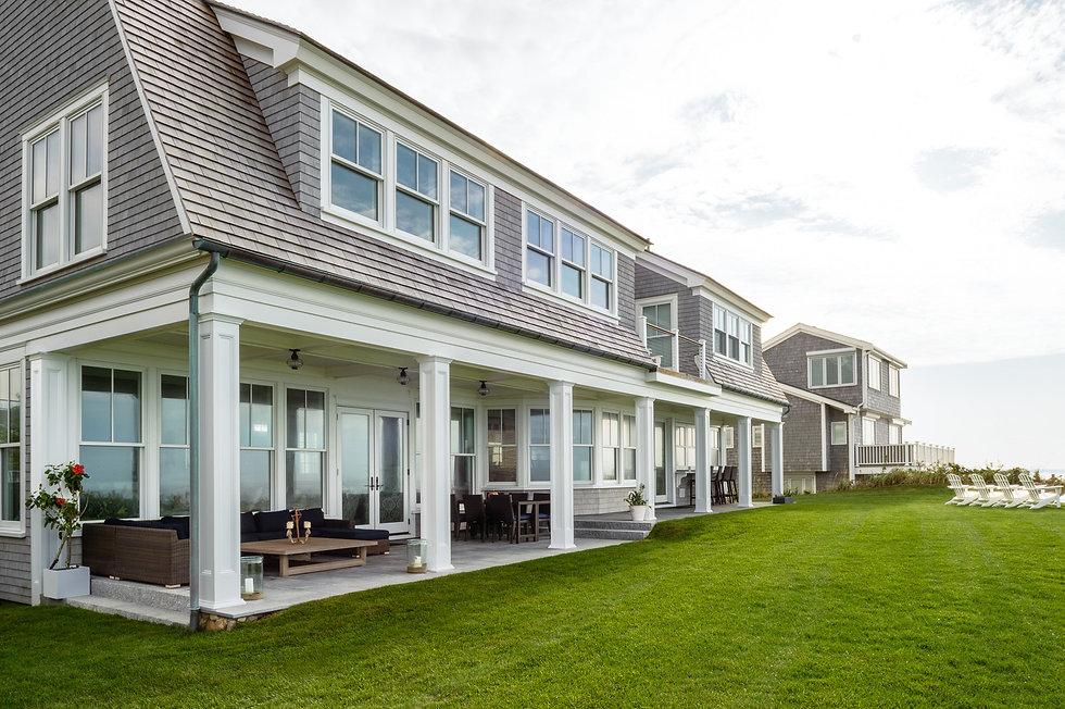 Indresano Corporation landscaping design, construction, maintenance – Cape Cod Seaside Retreat hardscape and softscape