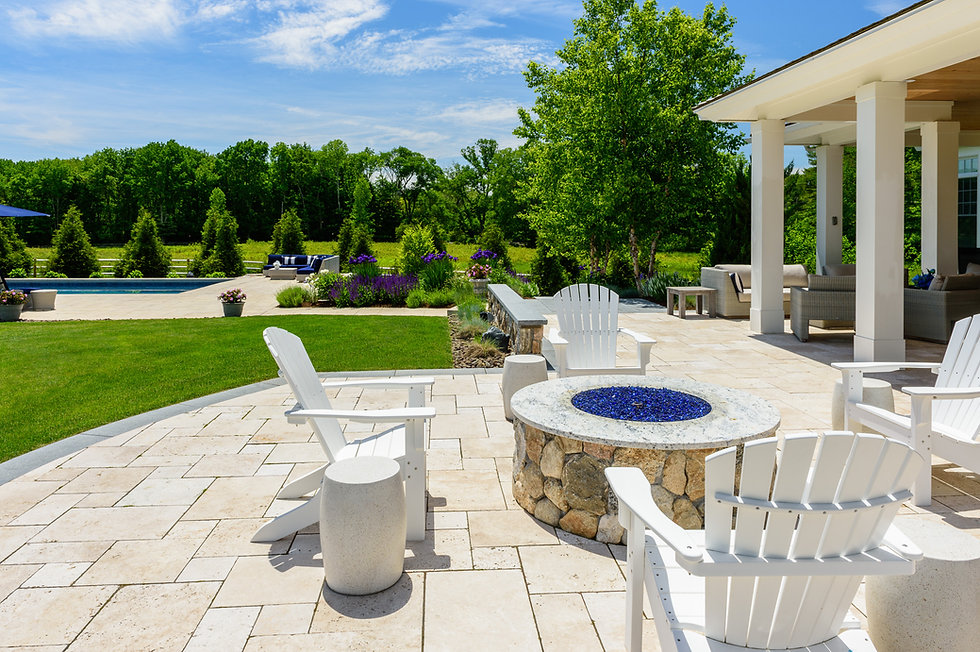 Indresano Corporation landscaping design, construction and maintenance – Opulent Dover Estate outdoor spa oasis