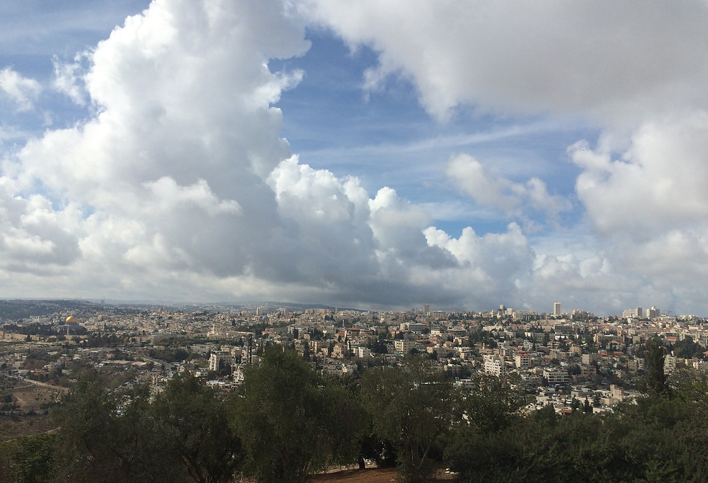 View of Jerusalem from Mt of Olives