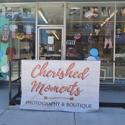 Cherished Moments Storefront