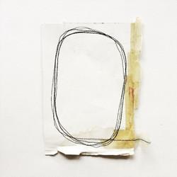 Circle of life, framed 29x36cm