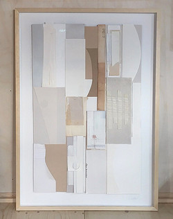 Space inbetween, framed 70x100cm