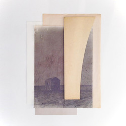 Somewhere else, framed 42x52cm