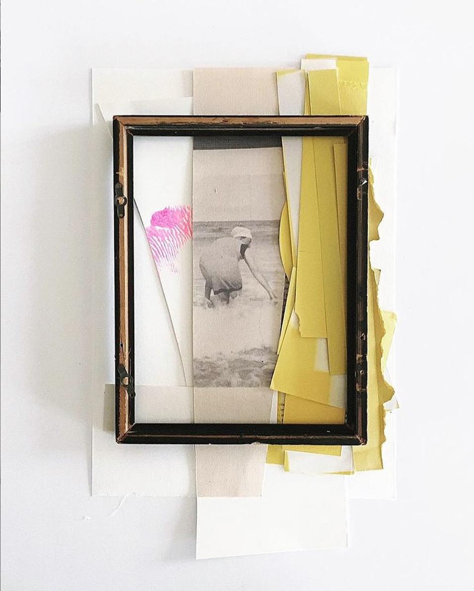 Summertime, framed 42x52cm