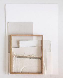 Moving on, framed 53x71cm