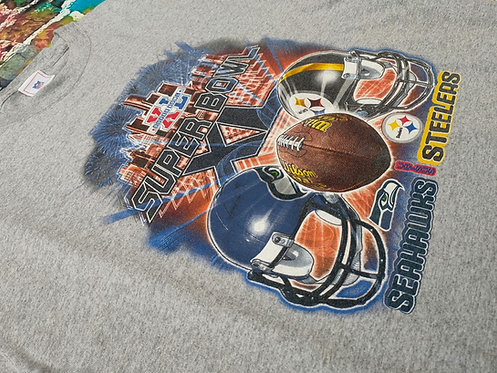 NFL  Super Bowl Seahawks vs Steelers (XL)