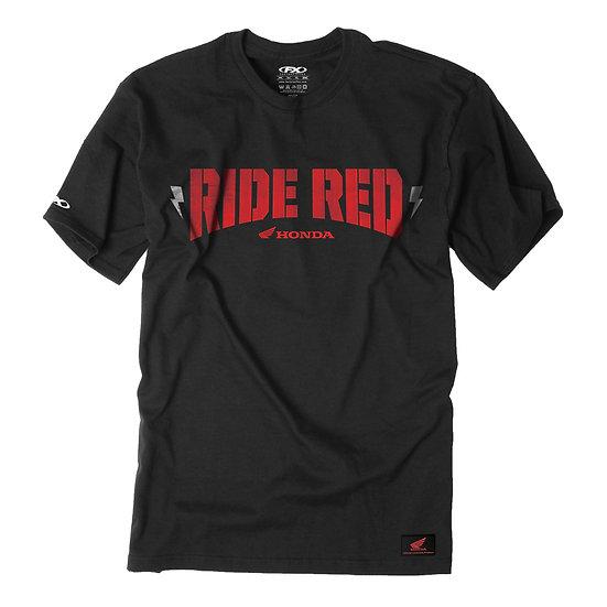 חולצה טי-שירט HONDA RIDE RED BOLT