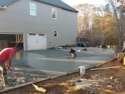 Addition w/ new driveway