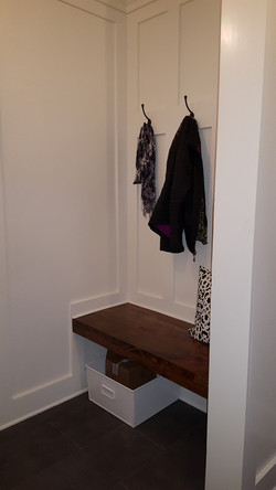 new mudroom