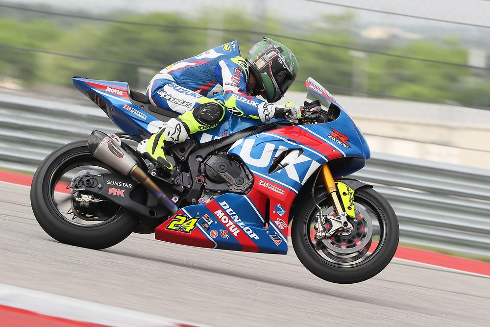 אליאס כבר הוכיח שנה שעברה שהוא מסתגל מהר-זינוק מהשורה הראשונה על אופנוע חדש מוכיח זאת שוב