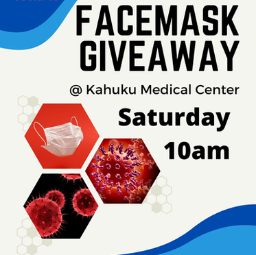 Save the Date - FREE Mask Drive