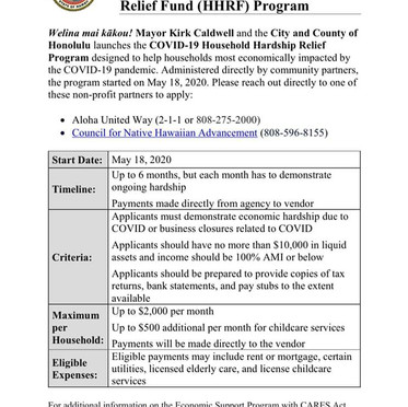 COVID-19 Community Relief