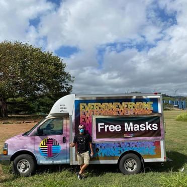 Free Mask Drive: 8,000 Masks Distributed!