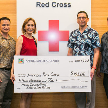 Kahuku Medical Center Raises $15,000 to Support Hawai'i Island and Kaua'i Disaster Relief Efforts