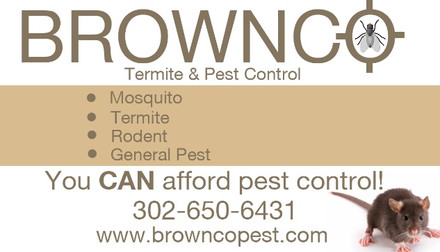 Brown Co Termite and Pest Control