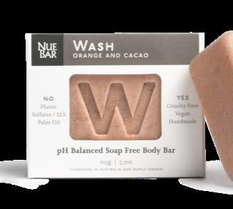 NueBar - Body Wash orange and cacao