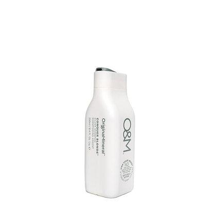 O&M Conquer Blonde Silver Shampoo