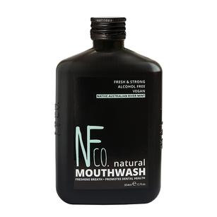 NFco Natural Mouthwash - Alcohol & Fluoride Free