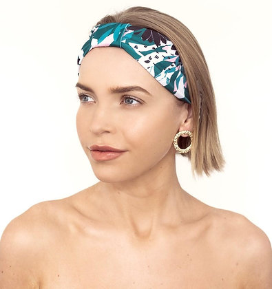 LOUVELLE - Seraphine Headband in Alpine Flowers