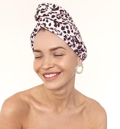 LOUVELLE - Riva Hair Towel Wrap in Petite Afrique