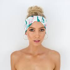LOUVELLE - Seraphine Headband in Birds Of Paradise